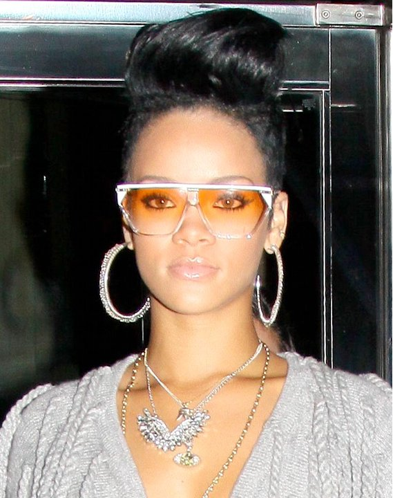 Rihanna NY Hotel