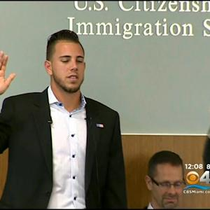 Marlins' Jose Fernandez Becomes U.S. Citizen