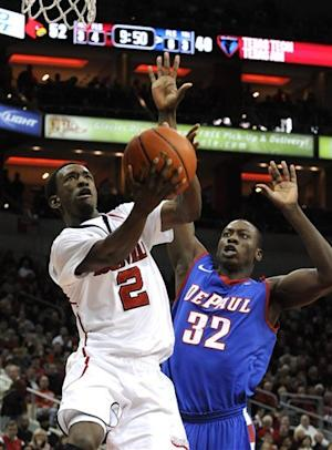 Smith scores 25 as No. 14 Cards top DePaul 76-59
