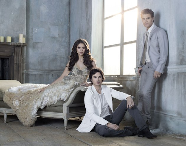 "The cast of ""The Vampire Diaries."""