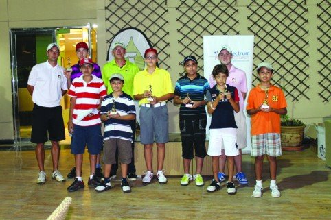 UAE golf round-up: Sharjah kids are showing progress