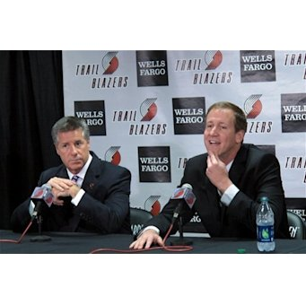 Trail Blazers introduce Stotts as coach The Associated Press