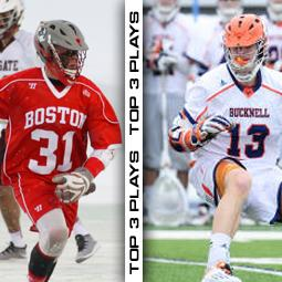 Patriot League Top 3 Plays of the Week (3.25.15)