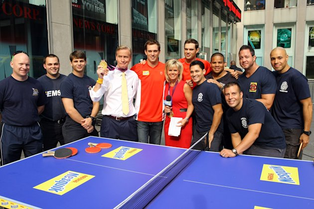 "Mike Bryan & Bob Bryan Visit ""FOX & Friends"""