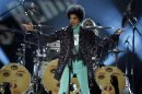 Prince performs during the Billboard Music Awards at the MGM Grand Garden Arena in Las Vegas