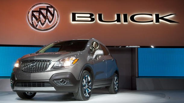 Detroit Auto Show 2012: 2013 Buick Encore SUV thinks small