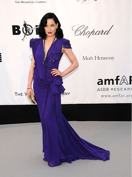 Von Teese Dita amfAR Evnt