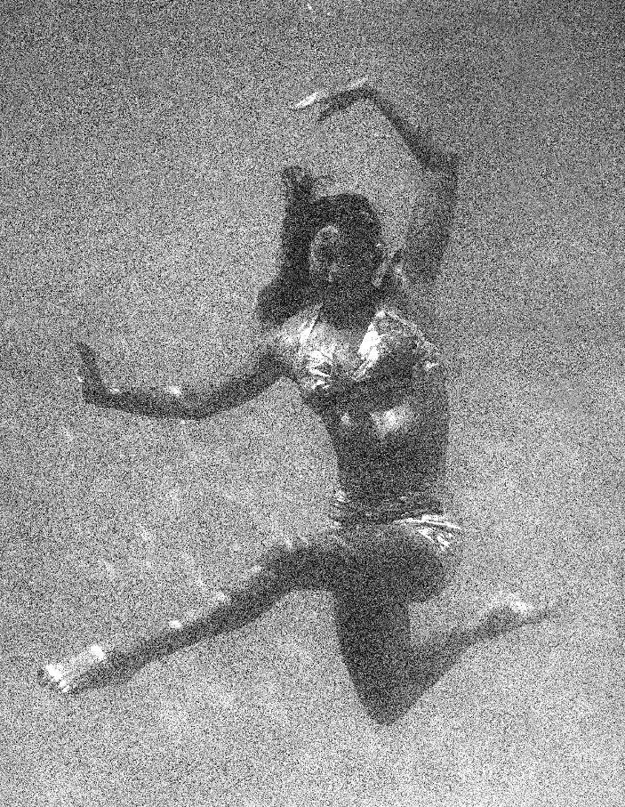 "FILE - This June 1944 file photo shows actress and swimmer Esther Williams rehearsing her underwater-ballet for the motion picture musical ""Ziegfeld Follies"" in Los Angeles. According to a press representative, Williams died in her sleep on Thursday, June 6, 2013, in Beverly Hills, Calif. She was 91. (AP Photo, file)"