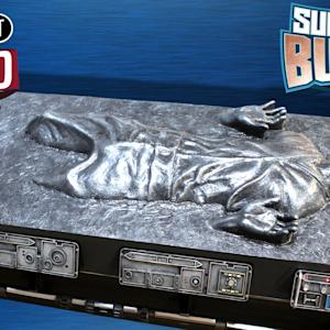 Han Solo in Carbonite - Star Wars Coffin Coffee Table – SUPER FAN BUILDS - PIF