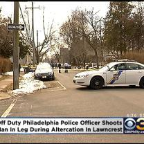 Police: Man Shot By Off-Duty Officer During Fight In Lawncrest