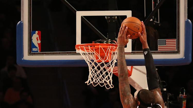 NBA: Sacramento Kings at New York Knicks