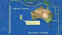 HT malaysia map search plane ml 140328 16x9 608 Plane Search Raises Questions About Sea of Floating Junk