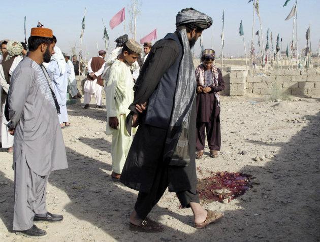 Bomb Hidden In Cemetery Kills 2 In Afghanistan