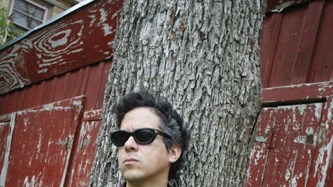 """In this March 13, 2012 photo, M. Ward poses for a photograph during the SXSW Music Festival in Austin, Texas.  Ward's latest album """"A Wasteland Companion,"""" is his first solo album in three years. (AP Photo/Jack Plunkett)"""