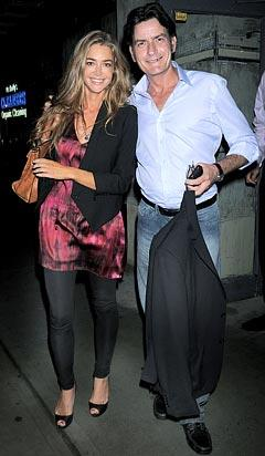 PIC: Charlie Sheen, Denise Richards Go on Dinner Date?