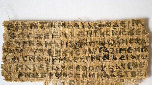 Vatican Says Papyrus Mentioning Jesus' Wife is 'Fake'