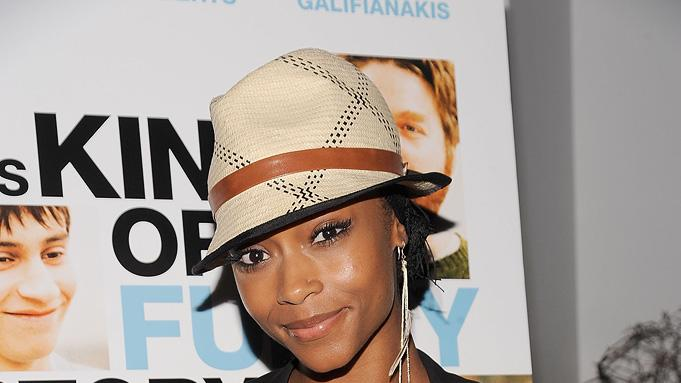 Its kind of a funny story NYC premiere 2010 Yaya DaCosta