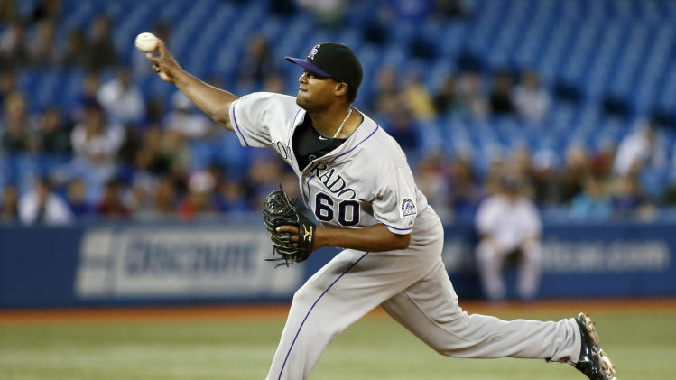 MLB: Colorado Rockies at Toronto Blue Jays