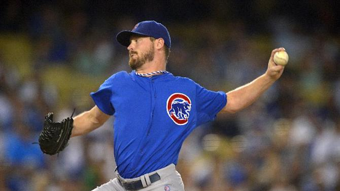 Cubs defeat Dodgers 3-2 behind Wood