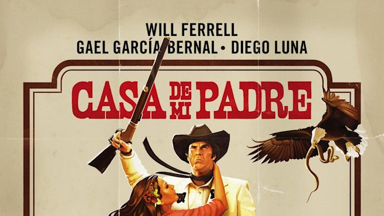 Best and Worst Movie Posters 2012  Casa de Mi Padre