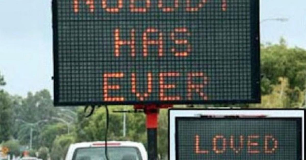17 Times Someone Hacked A Traffic Road Sign