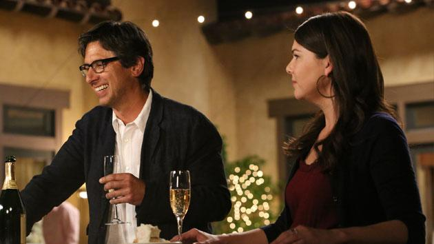 "Ray Romano and Lauren Graham ""Parenthood"""
