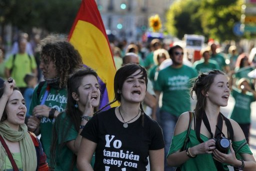 &lt;p&gt;Protesters take part in a demonstration in Valladolid against education cuts by the Spanish government. Europe must do more to tackle a fiscal crisis that is heaping extra pressure on an already-strained global financial system, the International Monetary Fund warned in a new report Wednesday.&lt;/p&gt;