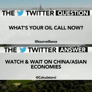 What's Your Oil Call Now?