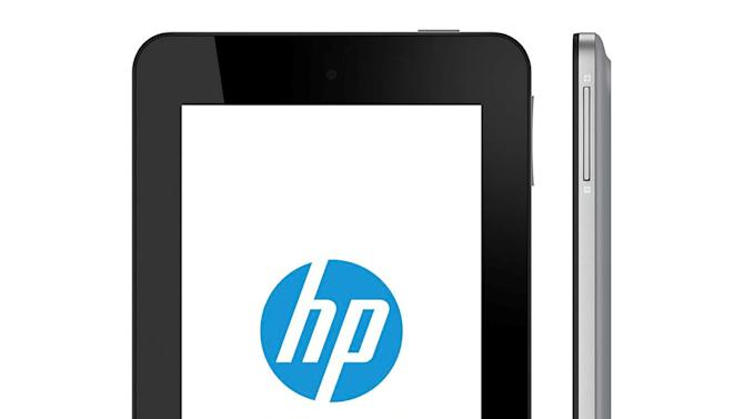 HP to make $169 Android tablet, eschewing Windows