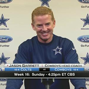 Dallas Cowboys head coach Jason Garrett: 'DeMarco Murray will have final say'