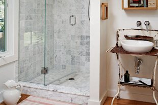 Bathtubs don't need to be the size of a wading pool.