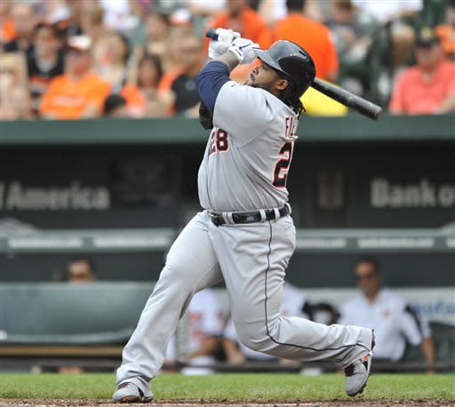 Davis hits 20th homer as Orioles rally past Tigers