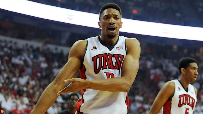 NCAA Basketball: San Diego State at UNLV