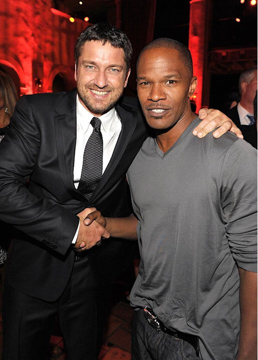 Law Abiding Citizen LA Premiere 2009 Gerard Butler Jamie Foxx