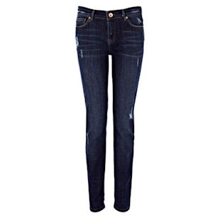 Ripped Skinny Cherry Jeans Oasis: What To Wear: Weekend: Skinny Jeans