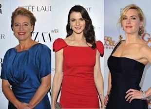 Kate Winslet, Rachel Weisz, and Emma Thompson have vowed not to get cosmetic surgery. Photo by Getty Images