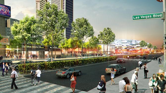 Las Vegas Strip to get New York-style public park