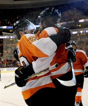 Kessel, Scrivens lead Leafs to 4-2 win over Flyers