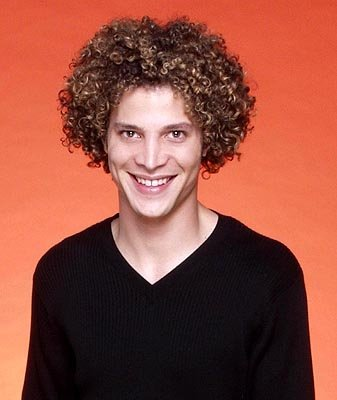"Justin Guarini is one of the contestants on Season 1 of ""American Idol."""