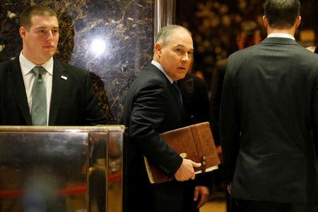 Trump EPA pick expresses doubts on climate, defends oil industry funding