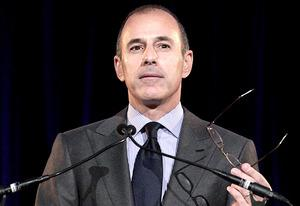 Matt Lauer  | Photo Credits: John Lamparski/Getty Images