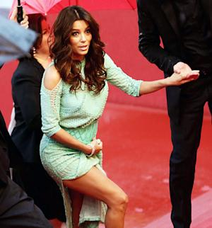 Eva Longoria Goes Without Underwear, Laughs Off Wardrobe Malfunction in Cannes
