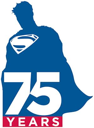 DC marks Superman's 75th anniversary with logo