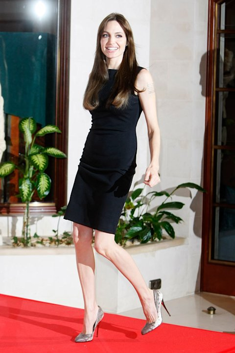 Angelina Jolie Tourist Press tour Looks 2010