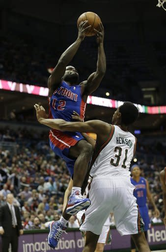 Monroe, Knight lead the Pistons past Bucks, 103-87