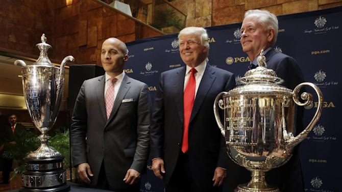Trump courses for PGA, Senior PGA championships