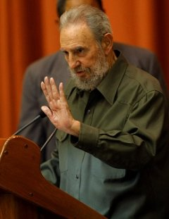Fidel Castro say reporter misinterpreted him