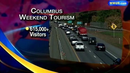 Record number of tourists expected for Columbus Day