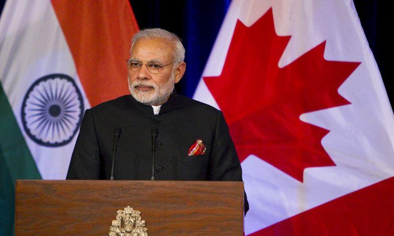 Modi courts Canada banks, insurers, pension funds