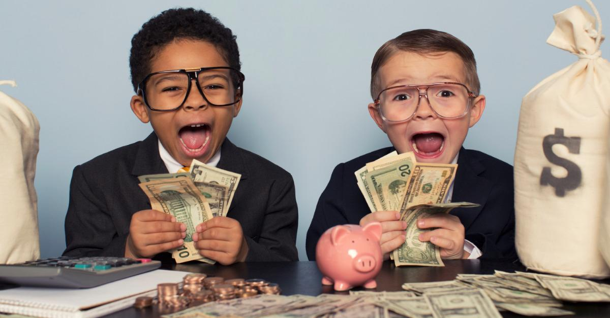 Two 11 Year Olds win Investing Contest!